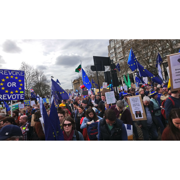 People's Vote March, London March 23rd 2019