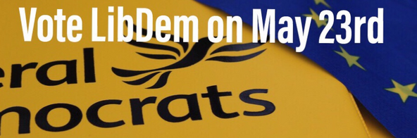 Vote LibDem in the European Elections May 23, 2019