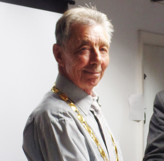 Paul Holbrook, Mayor of Hailsham