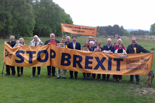 Antony Hook & Wealden LibDems at Ashdown Forest May 18 2019