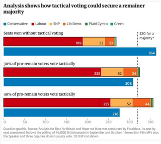 2019 Tactical Voting data & stats