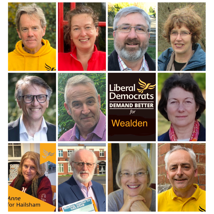 Wealden Lib Dem candidates for local elections May 6, 2021