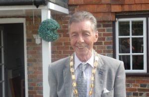 Hailsham Mayor Paul Holbrook