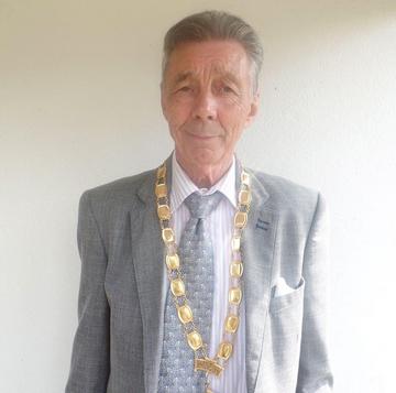 Mayor Paul Holbrook, Hailsham